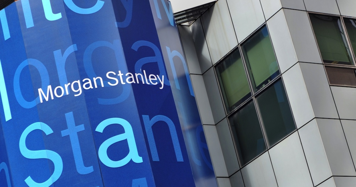 Morgan Stanley headquarters in New York.</p>