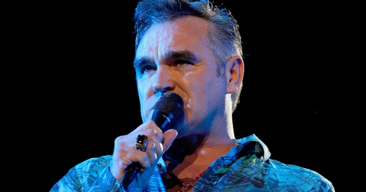 Singer Morrissey performs during day one of the Coachella Valley Music &amp; Arts Festival 2009 held at the Empire Polo Club on April 17, 2009 in Indio, California.</p>