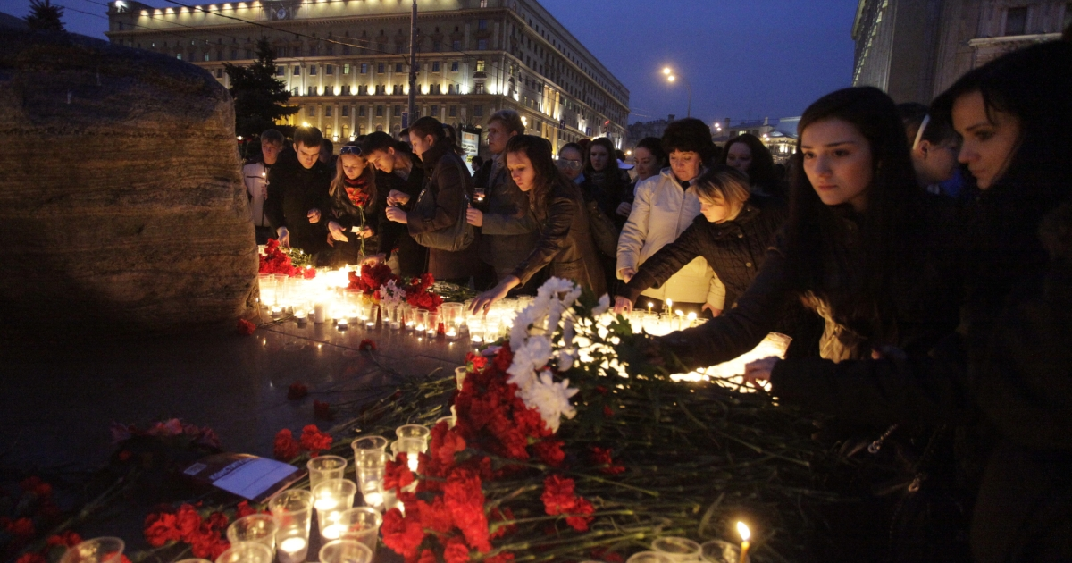 Russians mourned the victims of the Moscow metro bombing last March, which marked a return of terror to the Russian capital.</p>