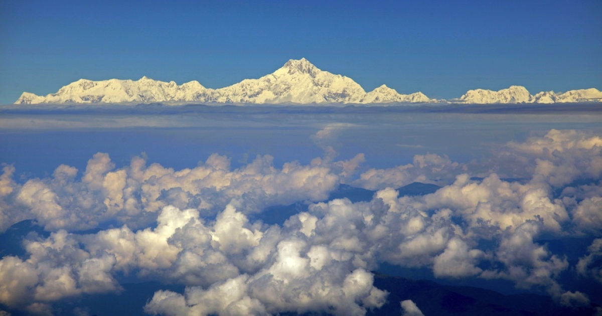 The real Mt Everest.</p>