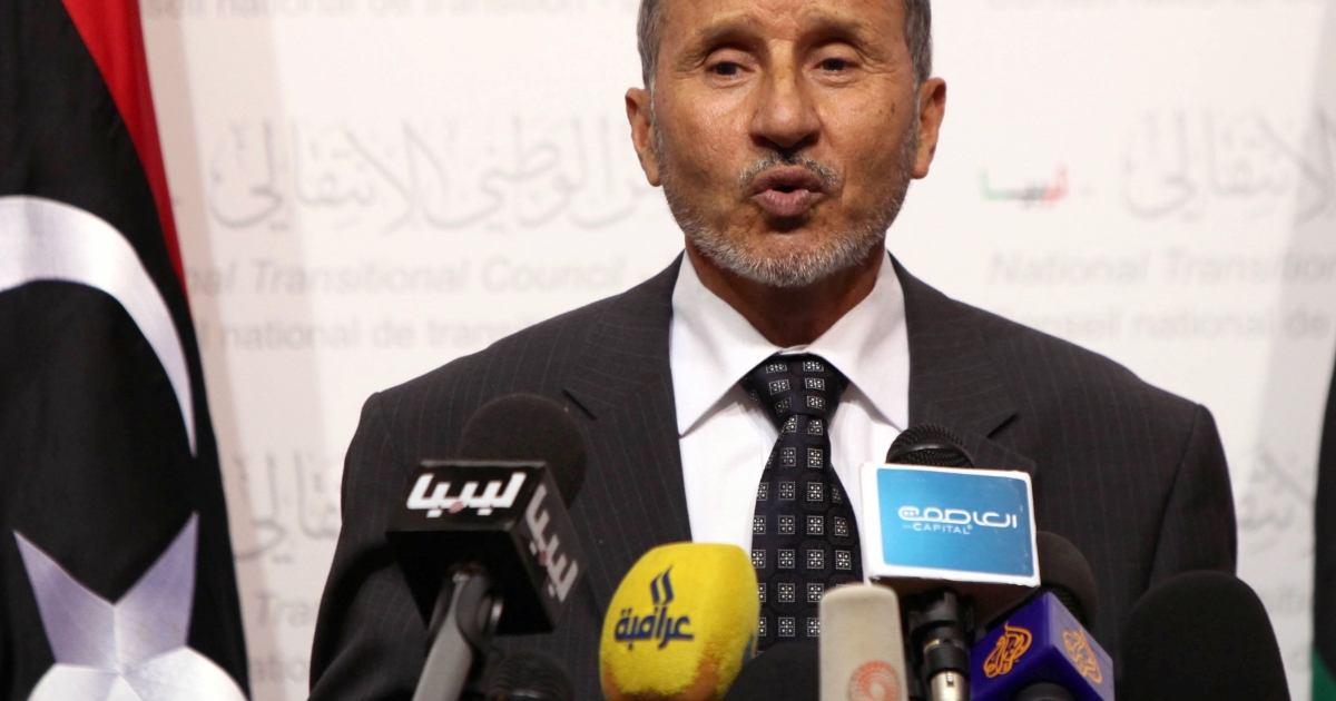 Mustafa Abdel Jalil, head of the governing National Transitional Council, said civic leaders in the eastern Cyrenaica region