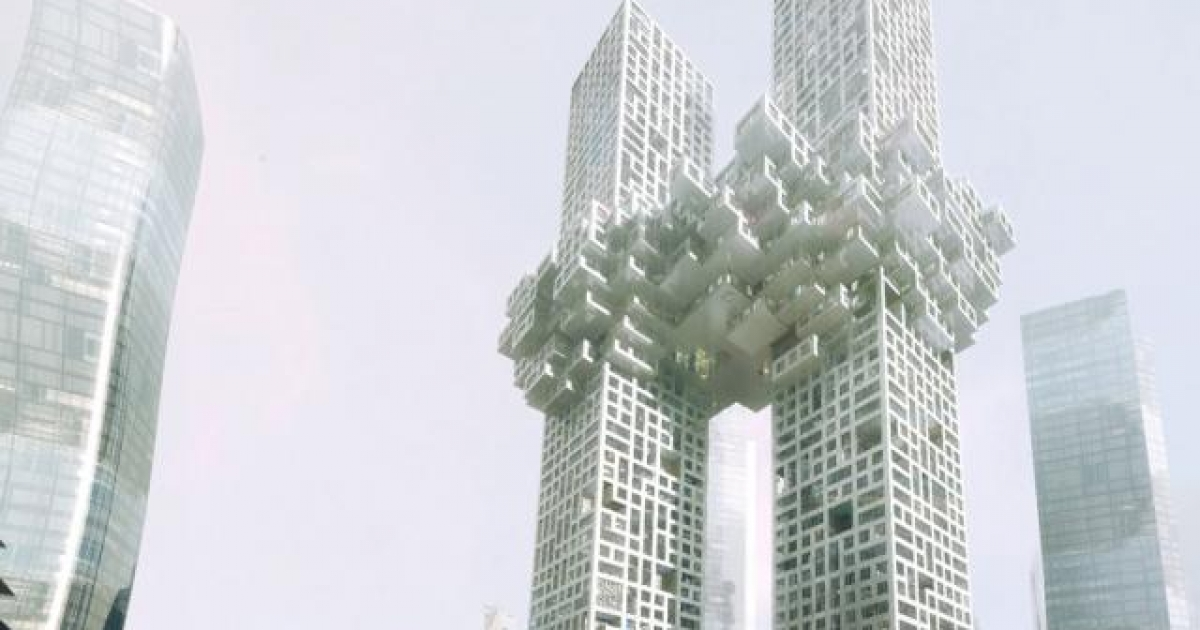 Preview of planned architectural project in Seoul by Dutch architectural firm MVRDV.</p>