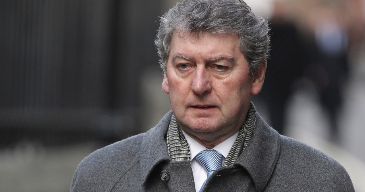 Colin Myler last month on his way into the Leveson Inquiry into press ethics in Britain, set up in the wake of the phone-hacking scandal.  Myler was the last editor of the now defunct News of the World</p>