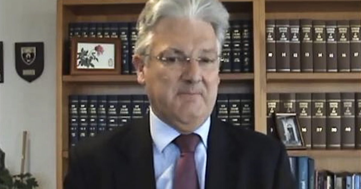 In a YouTube video, New Zealand minister Peter Dunne defended his