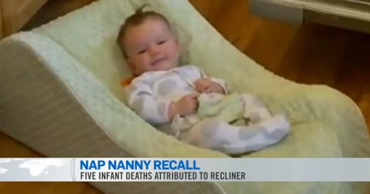 Four US retailers are recalling more than 150,000 Nap Nanny baby recliners after five deaths and dozens of reports of children nearly falling out of the recliners.</p>