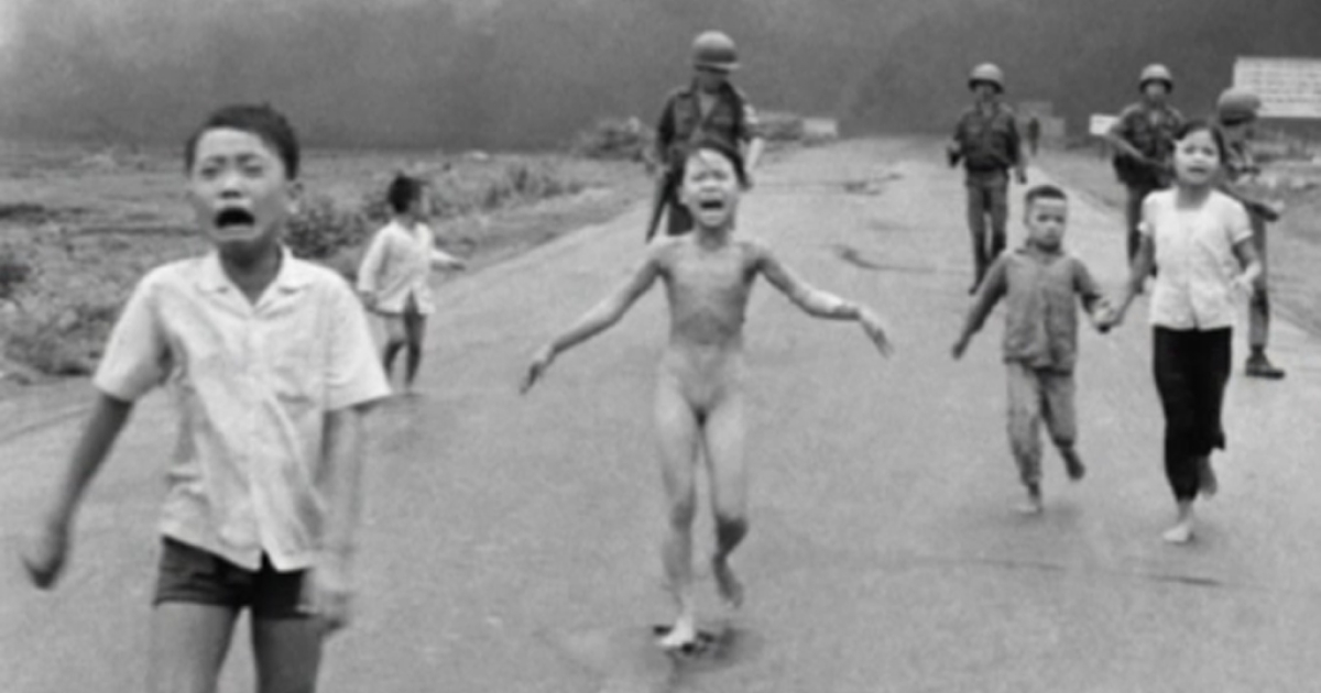 Nick Ut won a Pulitzer Prize for his photo of Kim Phuc, taken on June 8, 1972, during the Vietnam War.</p>