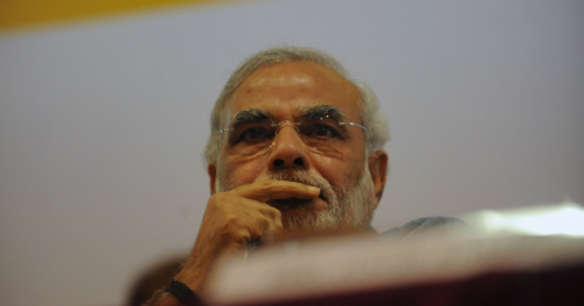 Narendra Modi, head of the BJP's 2014 election campaign, has lost the support of a powerful regional ally after the centre-left JDU withdrew from its longstanding coalition with the Hindu nationalist party.</p>