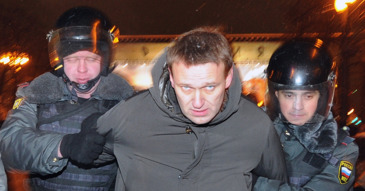 Alexei Navalny won the most number of votes for the coordination council.</p>