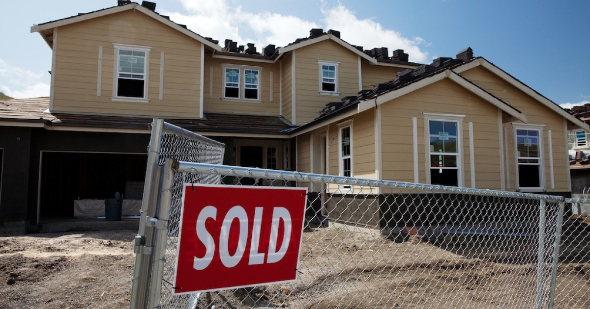 New US home sales dipped 0.3 percent in October, according to the Commerce Dept.</p>