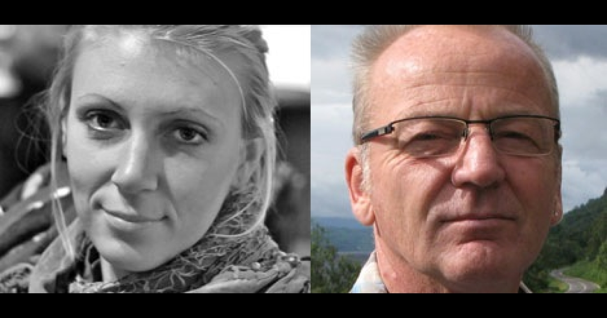 Jessica Buchanan and Poul Thisted, both aid workers with the Danish Refugee Council in Somalia, were freed by US military forces on Jan. 24.</p>
