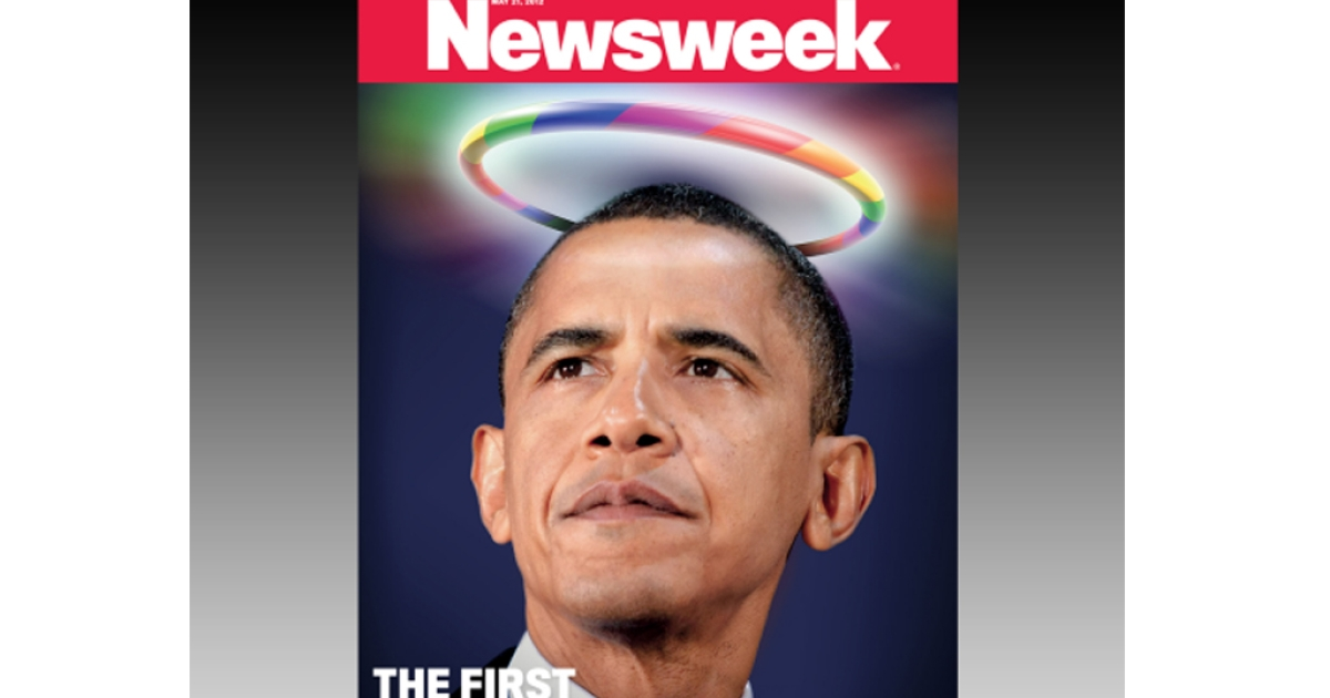 Newsweek declares President Barack Obama the country's