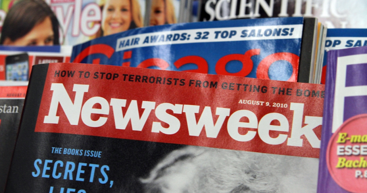 Newsweek will eventually become an online-only publication, said IAC/InterActiveCorp chief Barry Diller on July 25, 2012.</p>