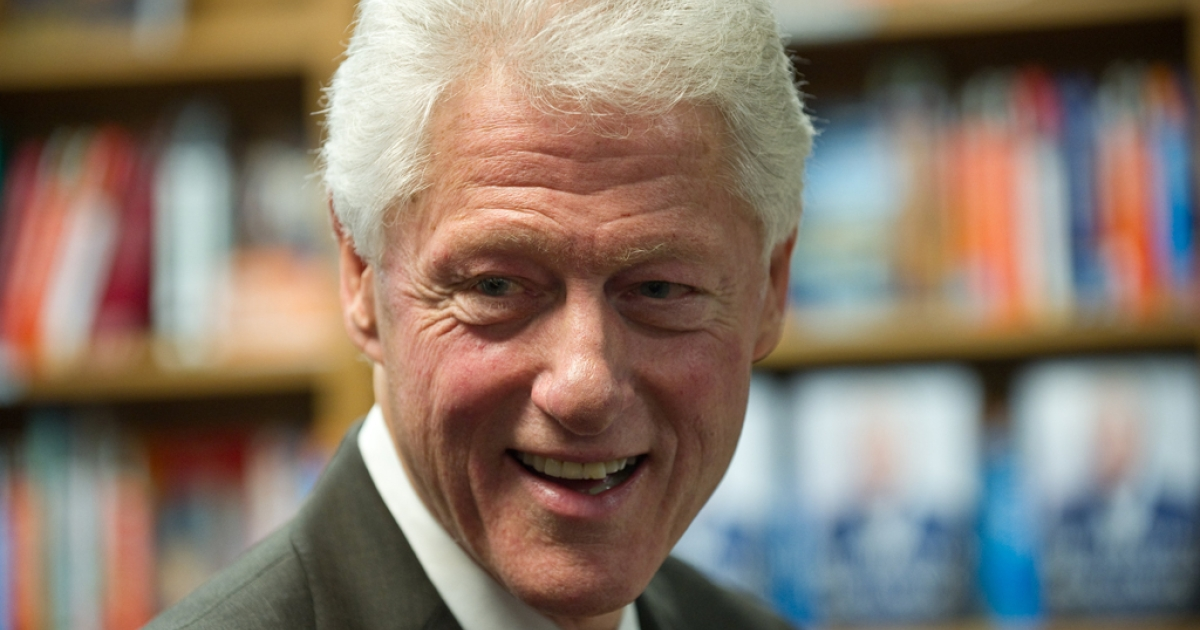 Former US president Bill Clinton said at an energy conference that Americans should 'embrace' the Keystone XL oil pipeline.</p>
