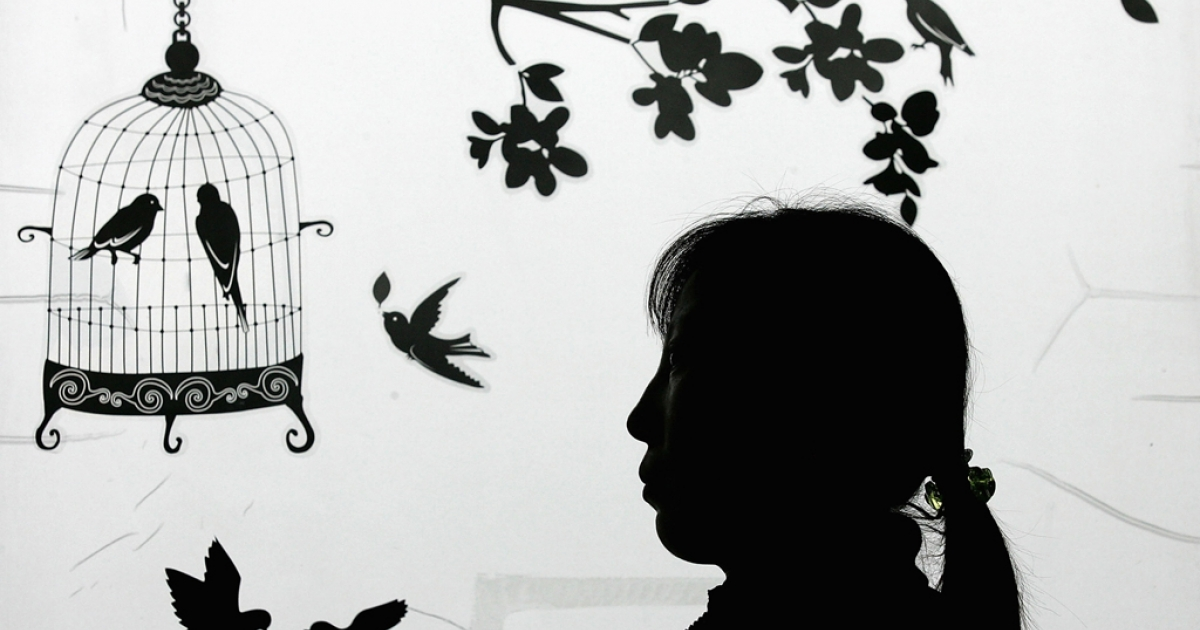A North Korean asylum seeker who is now an anti-North Korea activist is pictured at an office in Seoul, South Korea, on Feb. 14, 2009.</p>