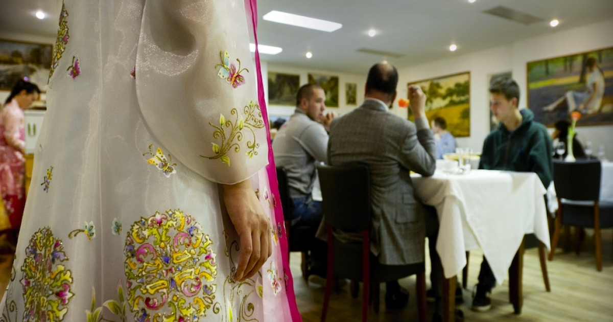 There's a chance that waitresses in North Korea are eavesdropping on foreigners while they dine.</p>