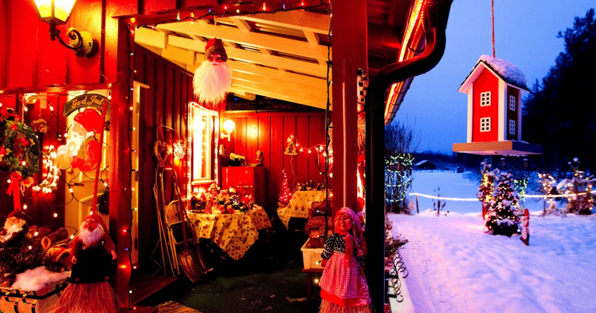 Christmas has come to this house in central Norway. But an acute butter shortage has left some Norwegians fearing they won't be able to do their annual Christmas baking.</p>