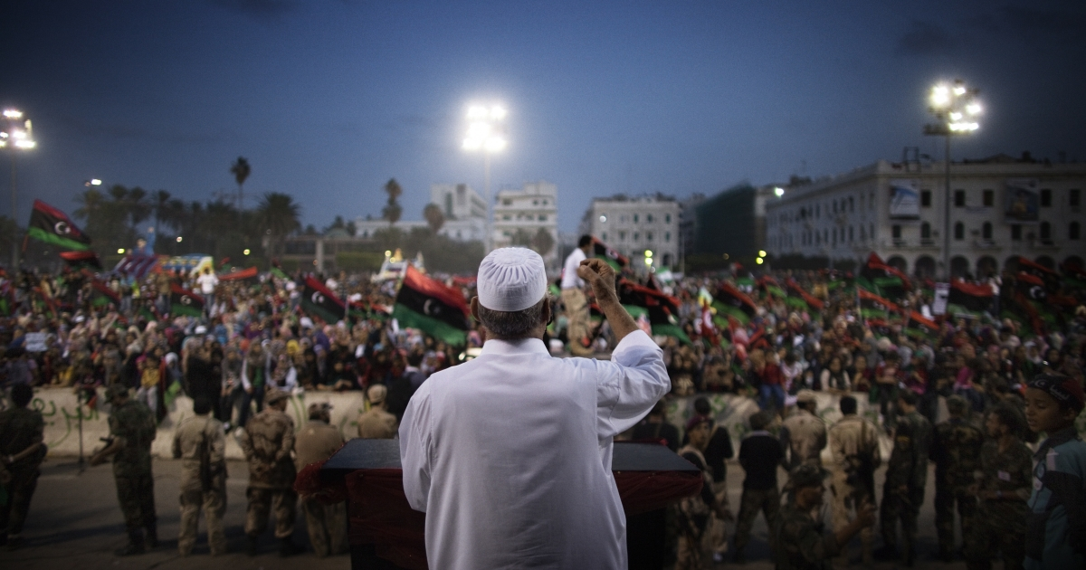 Libyans rejoiced as NTC leader declared the country liberated.</p>