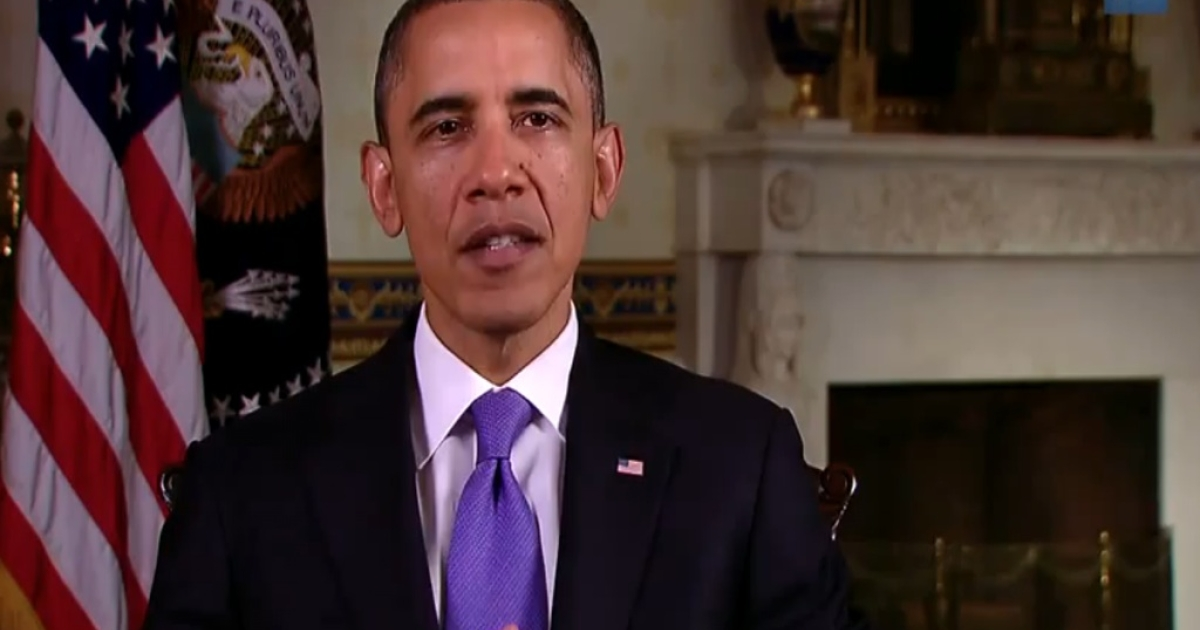 President Barack Obama in his video for the American Cancer Society's