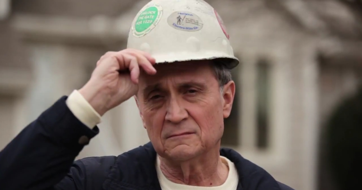 The opening of a new Barack Obama campaign ad shows a steelworker who says he was ruined by Bain Capital under Mitt Romney's management.</p>