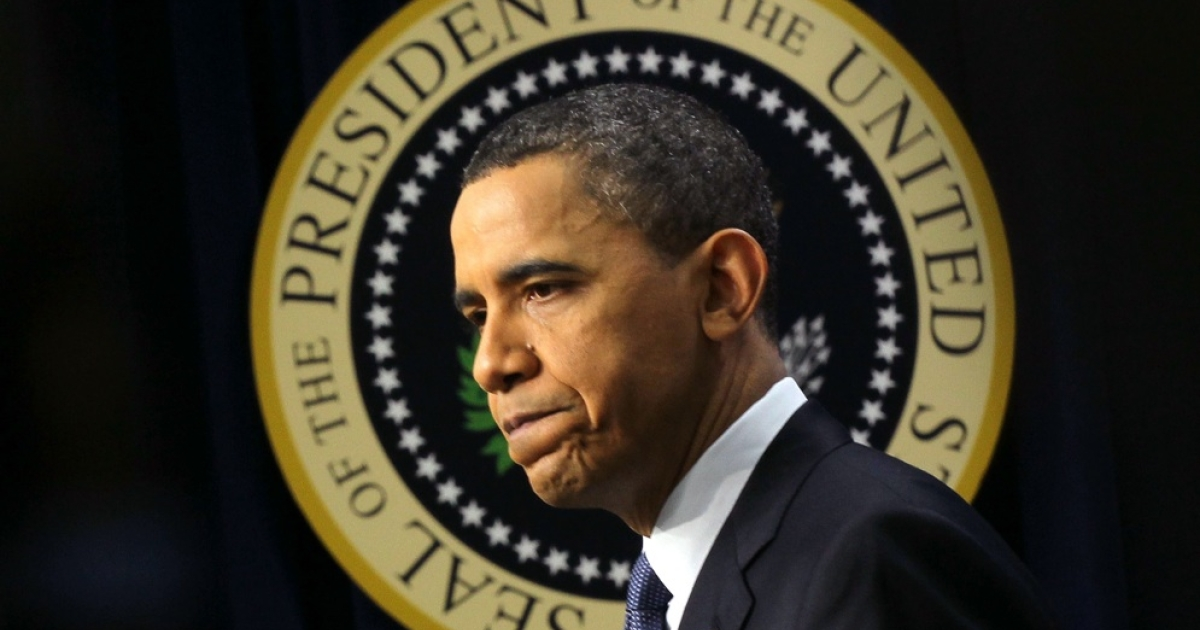 U.S. President Barack Obama at the White House March 11, 2011 in Washington, DC. Obama held a news conference to discuss the rising energy prices and other issues.</p>