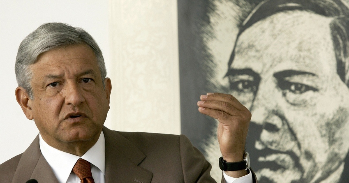 Mexico presidential candidate Andres Manuel Lopez Obrador states his case.</p>