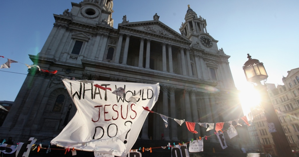 Protestors and authorities are set for a lengthy legal battle over the right to continue camping outside St Paul's.</p>