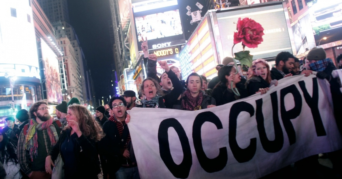 Three months in, Occupy carries on.</p>