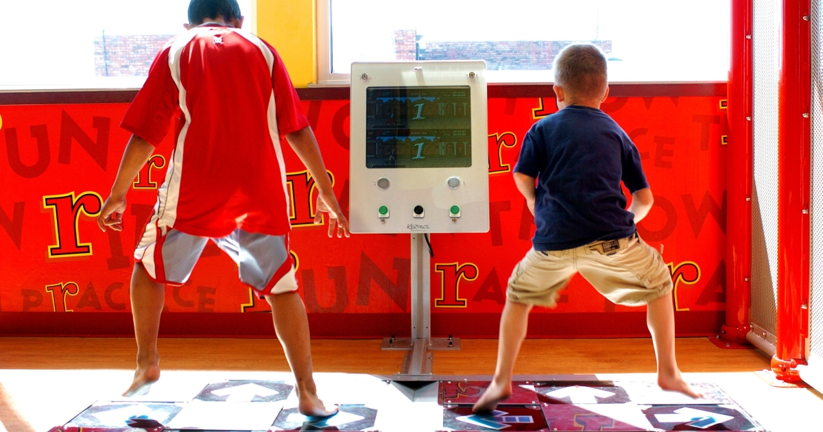 Jobs aren't the only thing Oklahoma has going for it. Oklahoma also is home to the only McDonald's location that has a kids gym.</p>