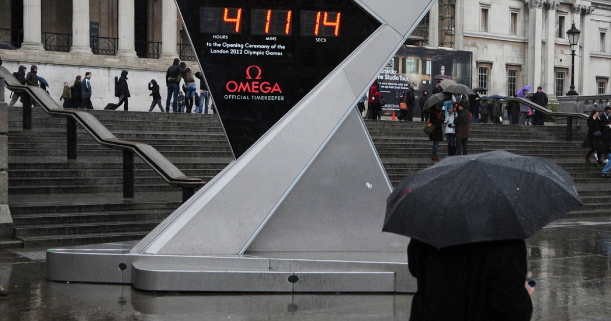 London 2012 organizers will be hoping for sunshine this summer and fewer storms over tickets between now and then.</p>