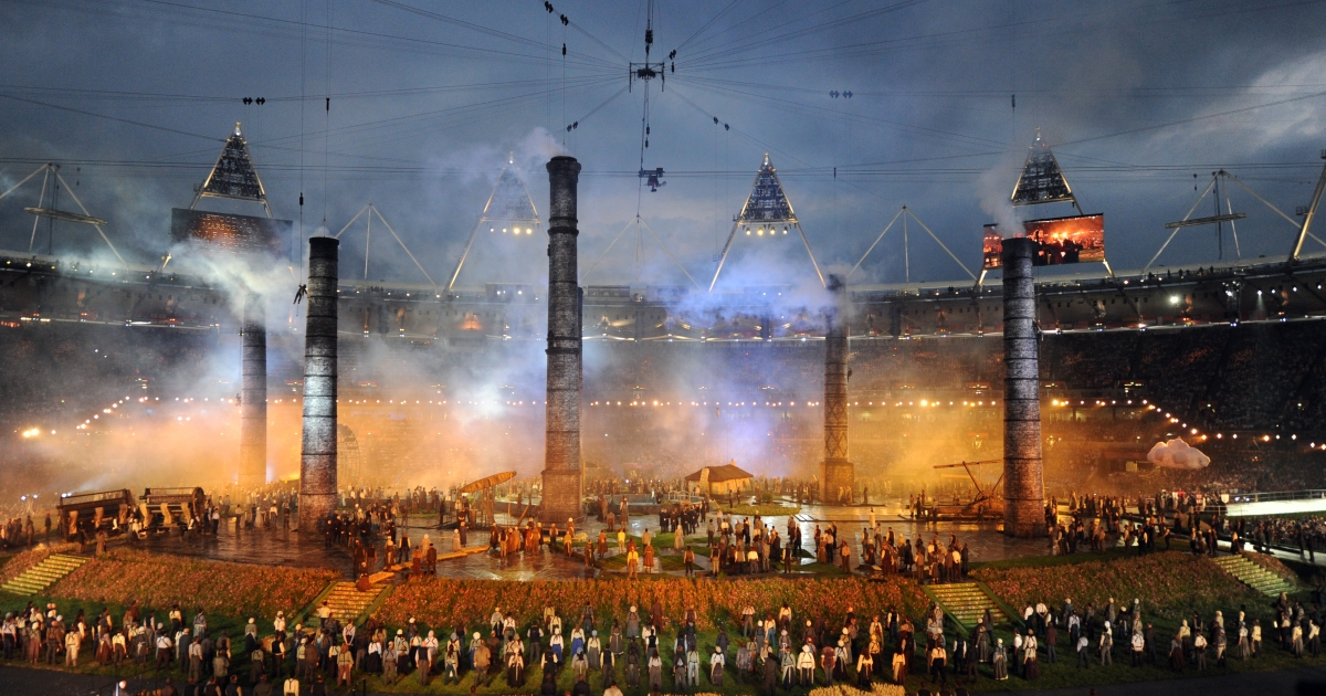 Athletes, heads of state and dignitaries from around the world have gathered in the Olympic Stadium for the opening ceremony of the 30th Olympiad. London plays host to the 2012 Olympic Games which will see 26 sports contested by 10,500 athletes over 17 days of competition.</p>