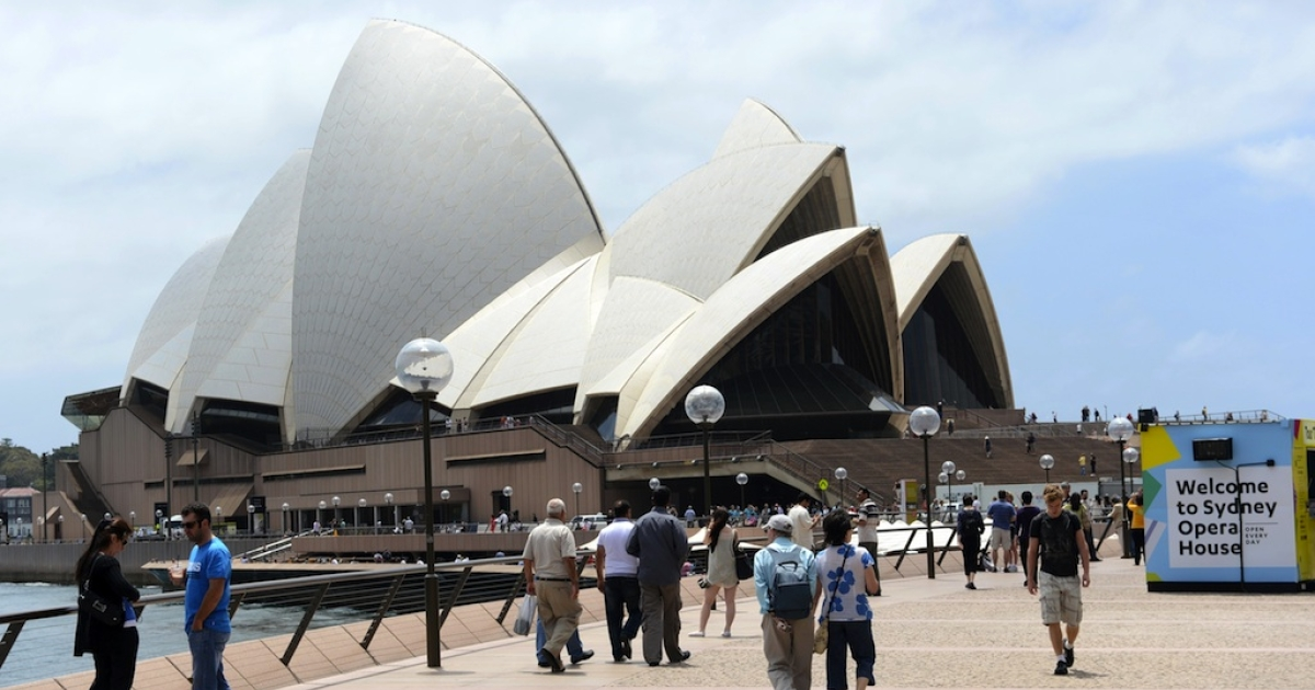 The iconic Sydney Opera House. But is it still there?</p>