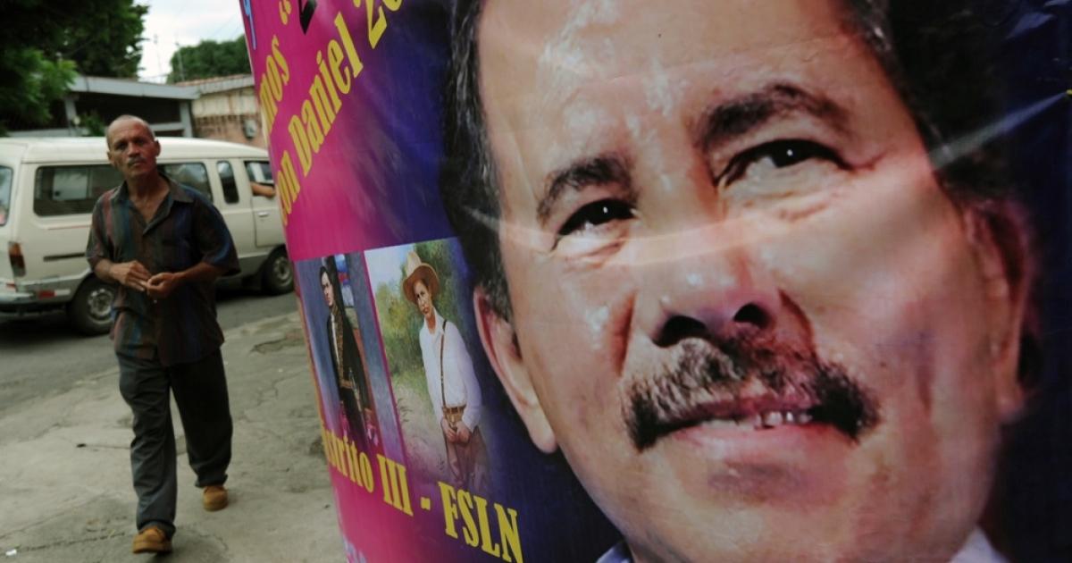 The new face of President Ortega.</p>
