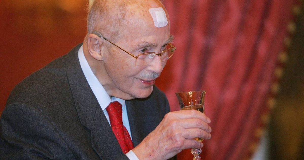 The last heir to the Austro-Hungarian empire, Otto von Habsburg (seen here in 2007), died at the age of 98.  He is remembered as a