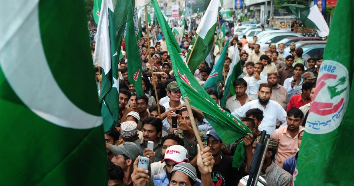 The U.S. media convienently ignore international events like these demonstrations in Pakistan.</p>