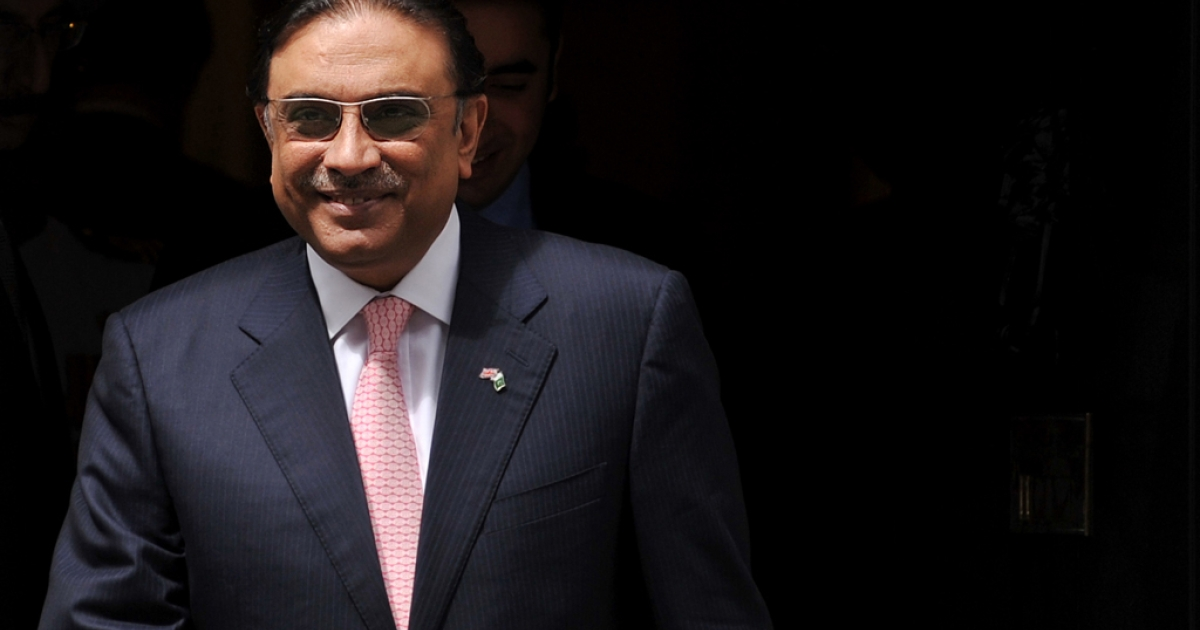 Pakistani President Asif Ali Zardari was released from the hospital today following his heart attack a few weeks ago.</p>