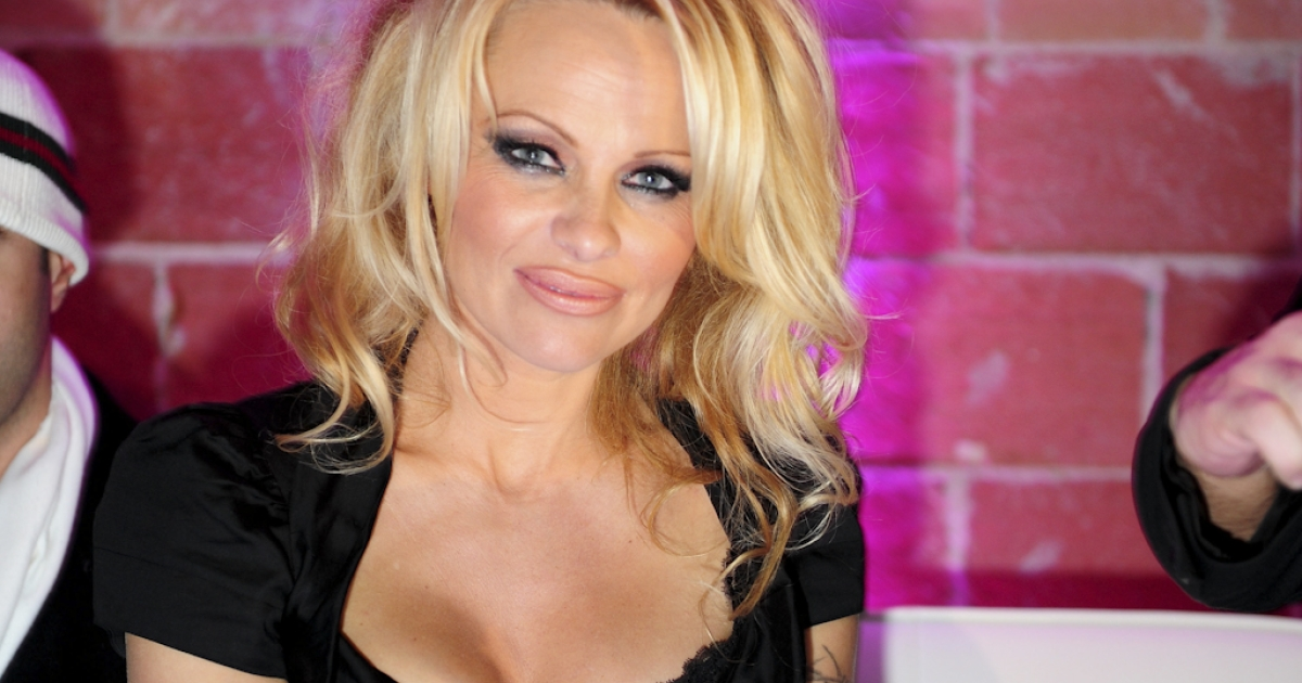 Away in a manger? Canadian sexpot Pamela Anderson will play the Virgin Mary in an upcoming Christmas special on CTV.</p>