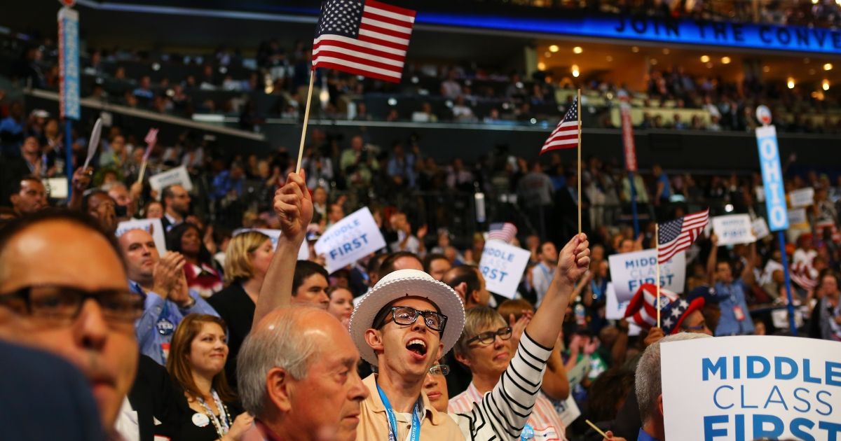 Day two of the Democratic National Convention at Time Warner Cable Arena on September 5, 2012 in Charlotte, North Carolina.</p>