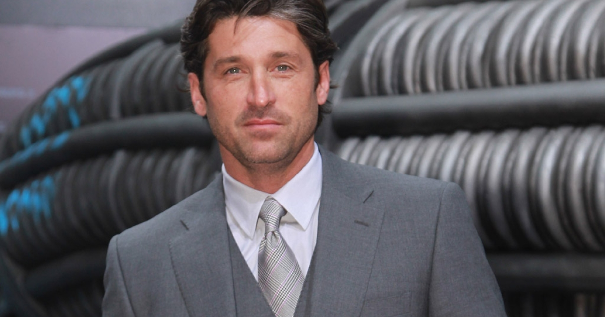 Actor Patrick Dempsey attends the