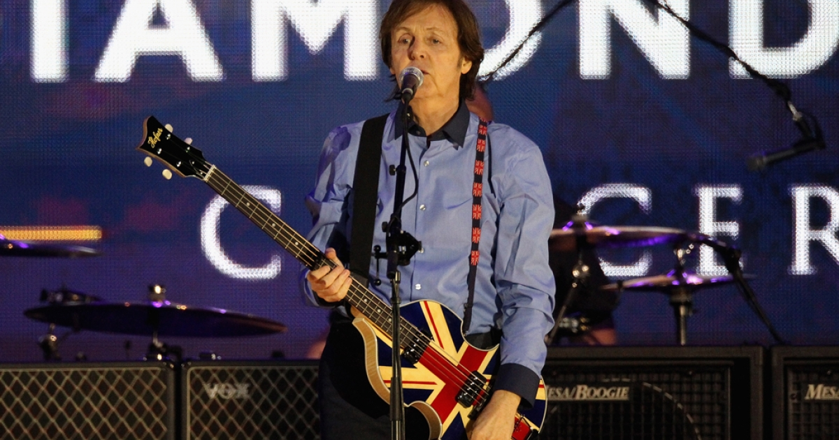 Musician Sir Paul McCartney will receive the French legion of honor in Paris on September 8, 2012.</p>