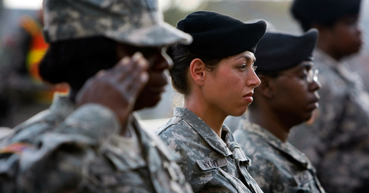 The Pentagon is set to loosen restrictions on women in the military, opening up 14,000 new and potentially more dangerous jobs to female soldiers.</p>