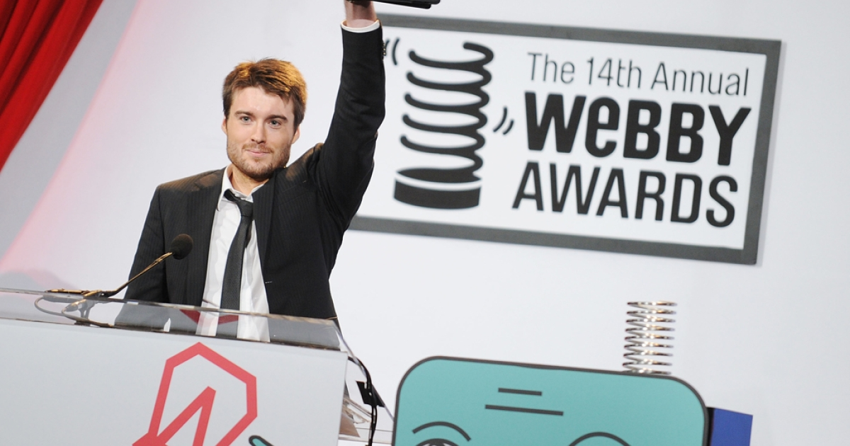 CEO and founder of Mashable Pete Cashmore attends the 14th Annual Webby Awards at Cipriani, Wall Street on June 14, 2010 in New York City. Mashable is reportedly in talks with CNN, which reportedly wants to buy the social media news website for over $200 million. Cashmore denied the rumors in an e-mail to his staff.</p>
