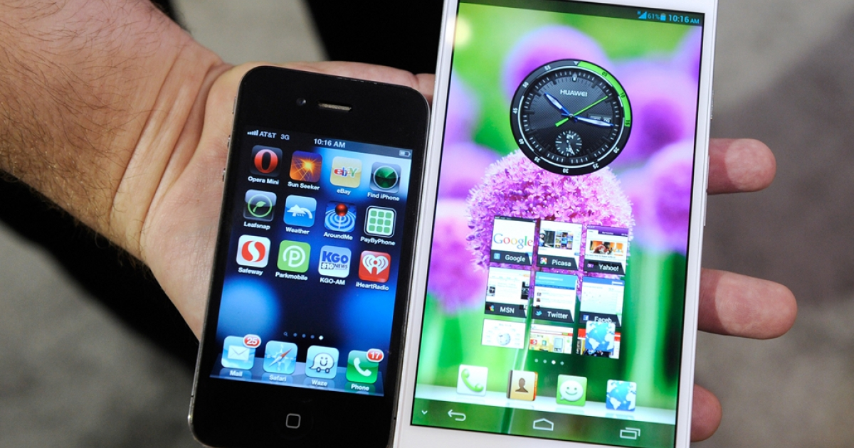 Competition from new smartphones and 'phablets' like the Huawei Ascend do not bode well for Apple's market share.</p>