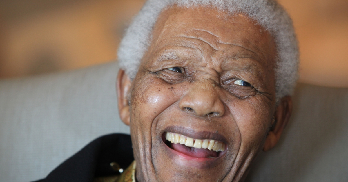 This photograph of Nelson Mandela was released by the Mandela Foundation on the eve of his 92nd birthday. Mandela made a rare television appearance on May 30, 2012, while celebrating the African National Congress' centenary. (Debbie Yazbek/Nelson Mandela Foundation)</p>