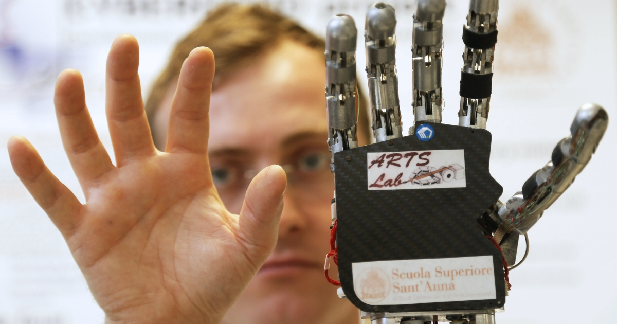 German scientists have found that people have just as much empathy for robots as they do for people.</p>