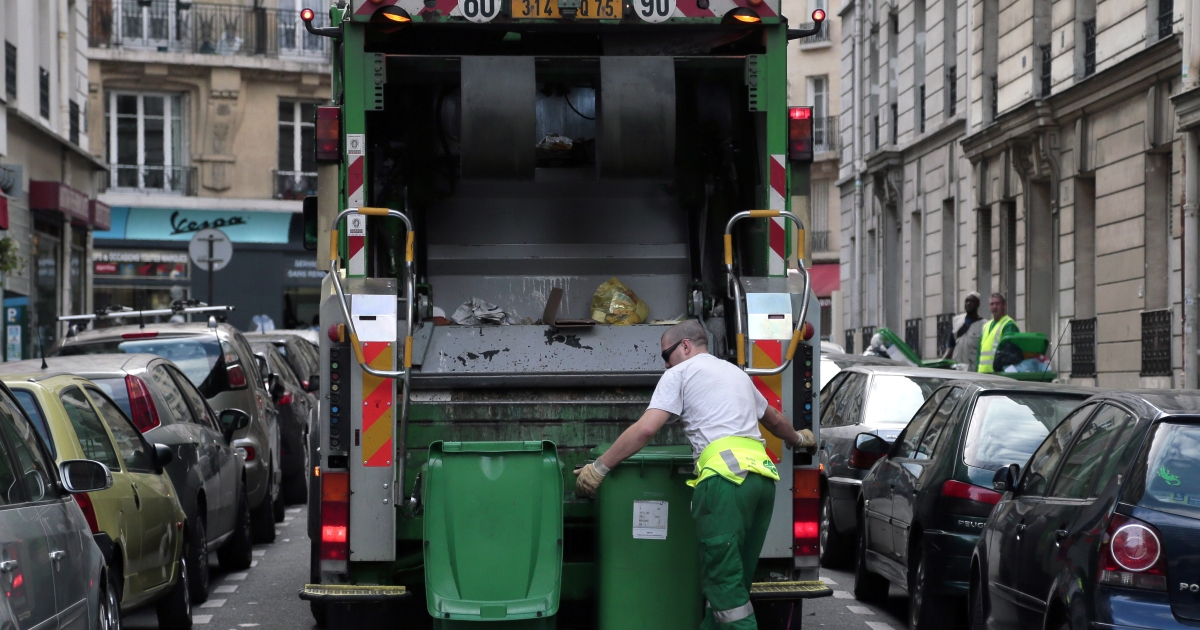 A teenager in Luxembourg was crushed to death by a garbage truck over the weekend.</p>