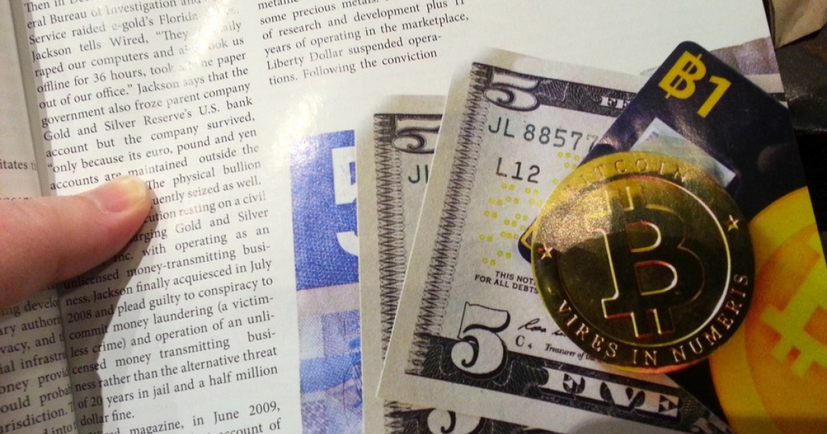 What physical Bitcoins could look like, shown in the December 2012 issue of Bitcoin Magazine.</p>
