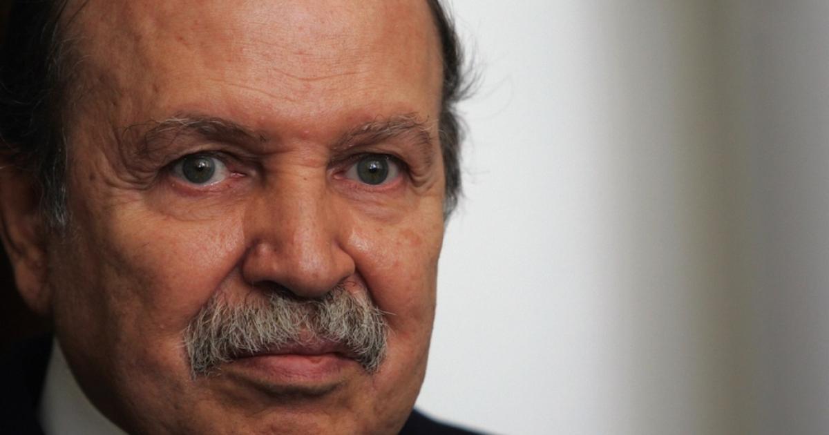 Algerian President Abdelaziz Bouteflika in Algiers City on Dec. 18, 2007.</p>