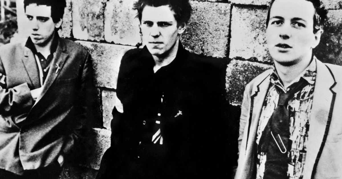 Members of The Clash in 1978. The punk group captured the zeitgeist when riots were tearing through derelict neighborhoods of London and other cites.</p>