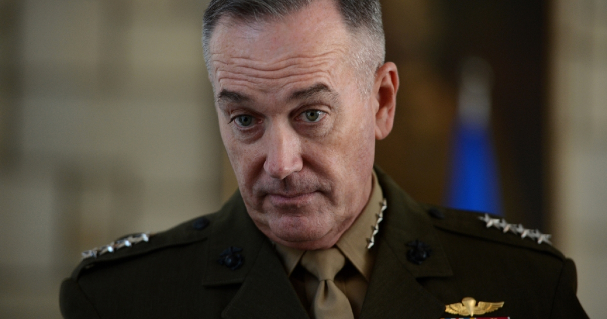 Gen. Joseph Dunford, commander of the International Security Assistance Force in Afghanistan, said April 16, 2013, that US troops should remain in Afghanistan after 2014.</p>