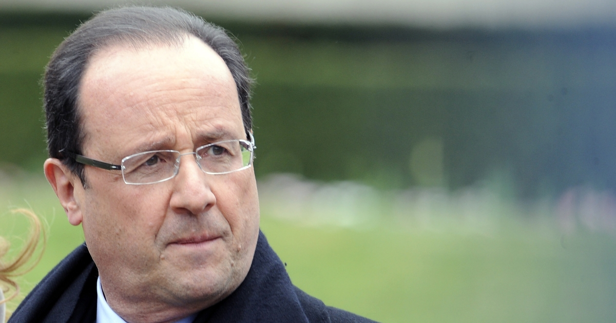 Fears are rising that Hollande's failure to reverse France's economic slide could bring down the single currency.</p>